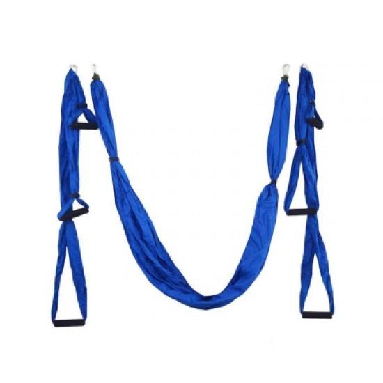 01 Non-elastic Anti-gravity Aerial Air Yoga Hammock Indoor Fly Yoga Swings with 6 Handles